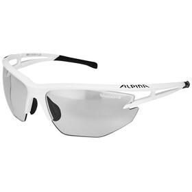 Alpina Eye-5 HR VL+ Glasses white matt-black/black